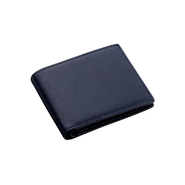 サフィアーノ 小銭入れ付き二つ折り財布 No.102