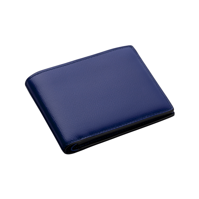ブレンタボックスカーフ 二つ折り財布 No.116
