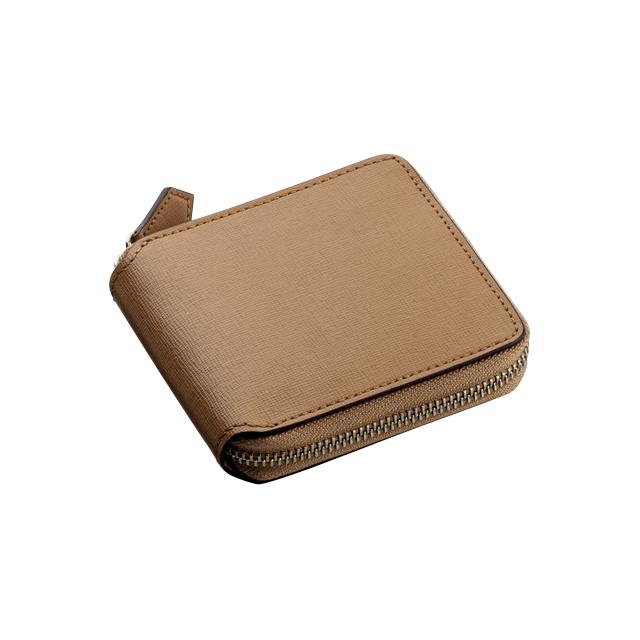 サフィアーノ ラウンドジッパー二つ折り財布 No.120