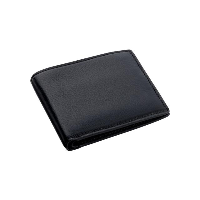 ヤクレザー 二つ折り財布 No.124