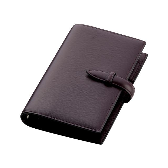 ブレンタボックスカーフ バイブルサイズ システム手帳 6穴16mm No.580